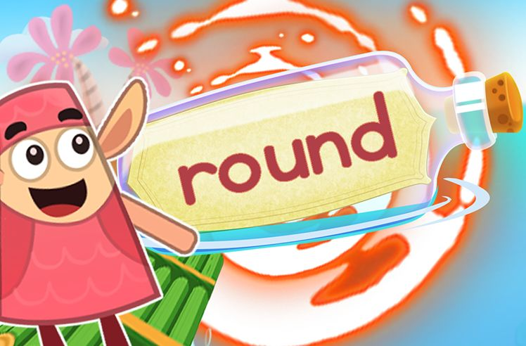 Practice the Sight Word: round