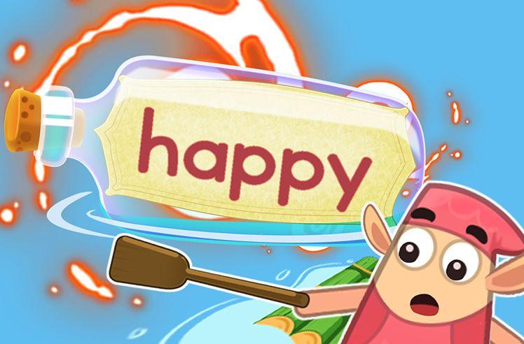 Practice the Sight Word: happy