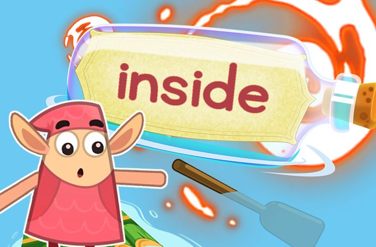 Practice the Sight Word: inside