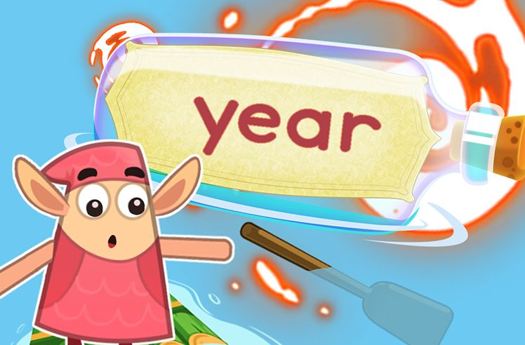 Practice the Sight Word: year