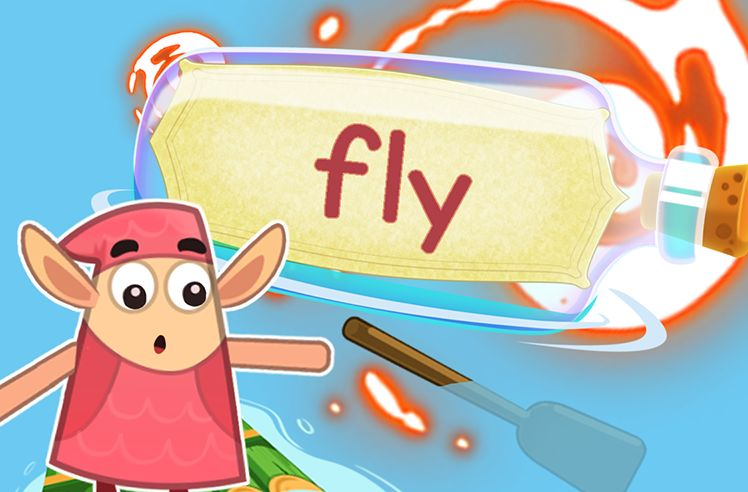 Practice the Sight Word: fly