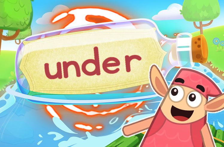 Practice the Sight Word: under