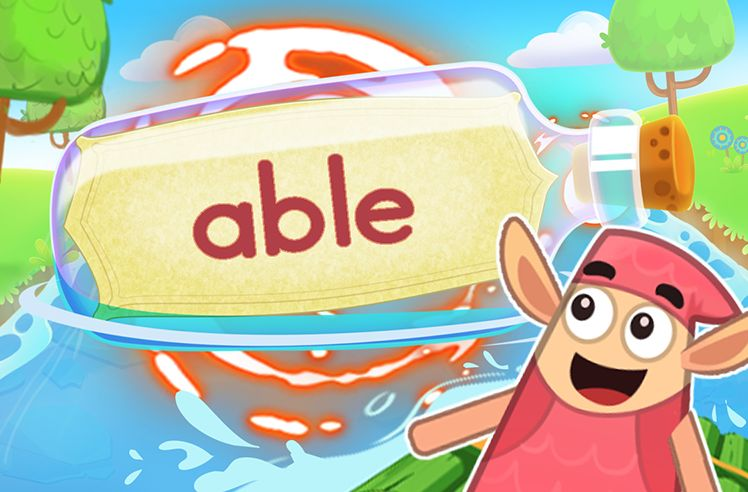 Practice the Sight Word: able
