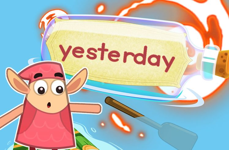 Practice the Sight Word: yesterday