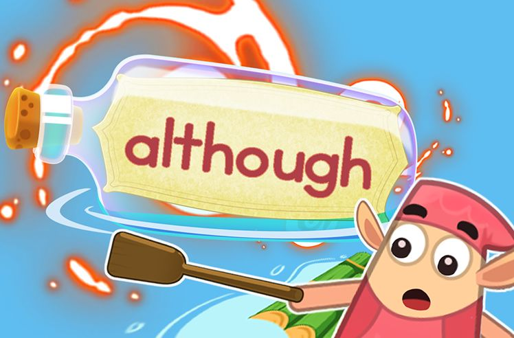 Practice the Sight Word: although