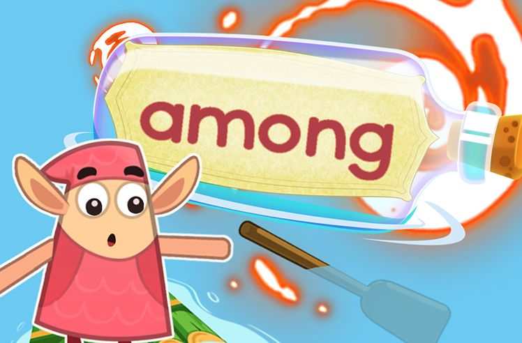 Practice the Sight Word: among
