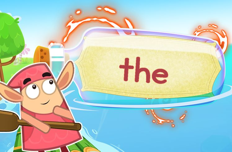 Practice the Sight Word: the