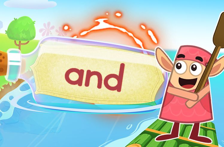 Practice the Sight Word: and
