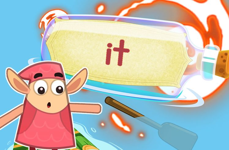 Practice the Sight Word: it