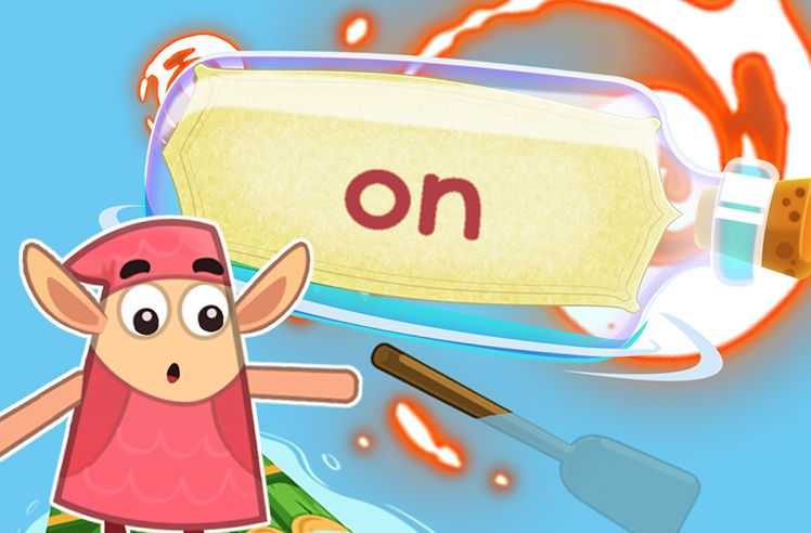 Practice the Sight Word: on