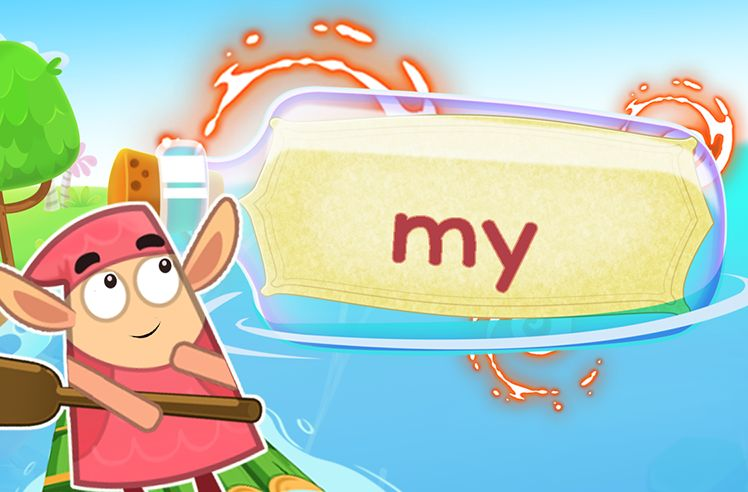 Practice the Sight Word: my