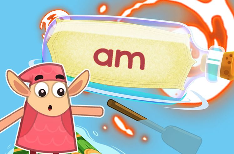 Practice the Sight Word: am