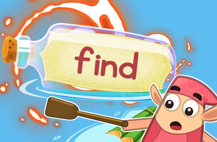 Practice the Sight Word: find