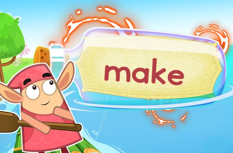 Practice the Sight Word: make