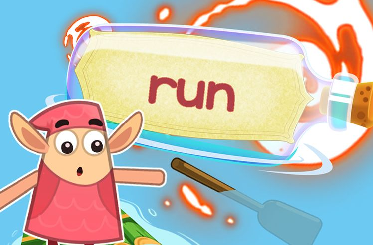 Practice the Sight Word: run