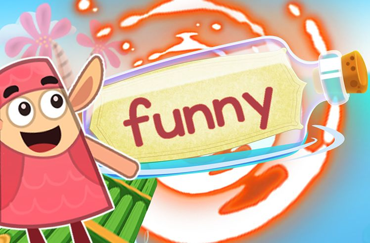 Practice the Sight Word: funny