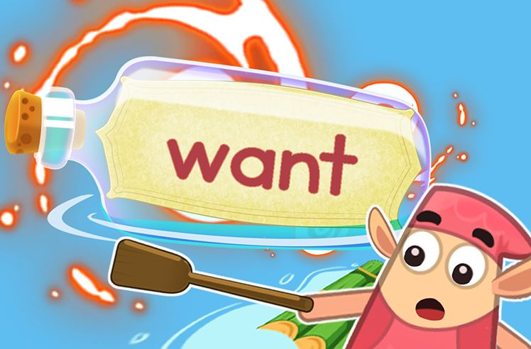 Practice the Sight Word: want