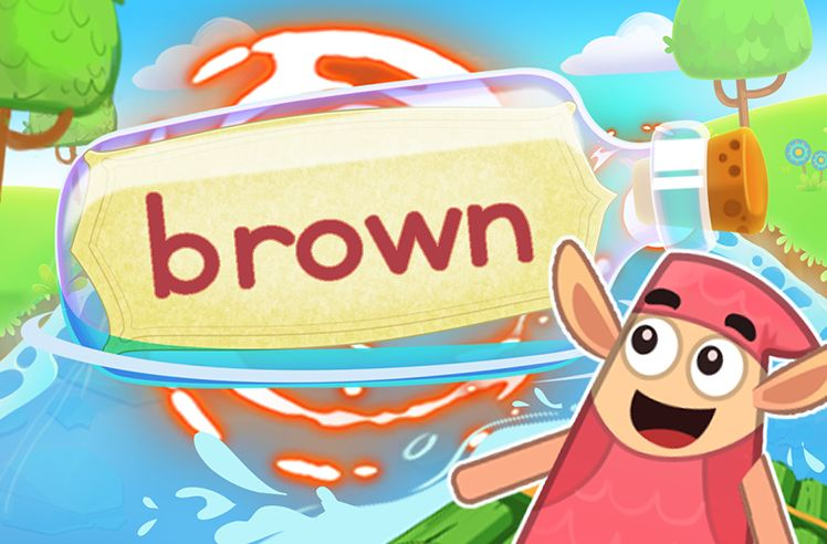 Practice the Sight Word: brown