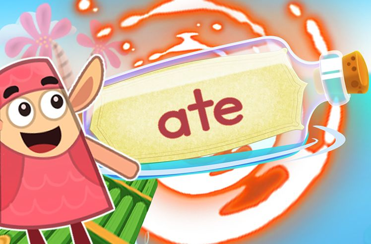 Practice the Sight Word: ate