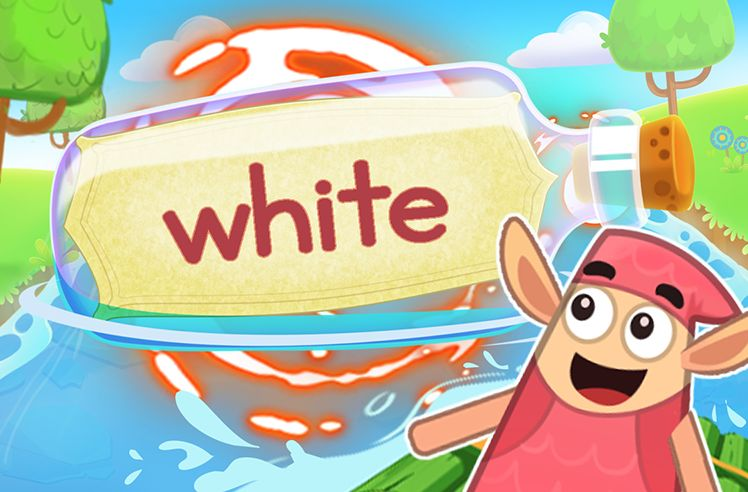 Practice the Sight Word: white