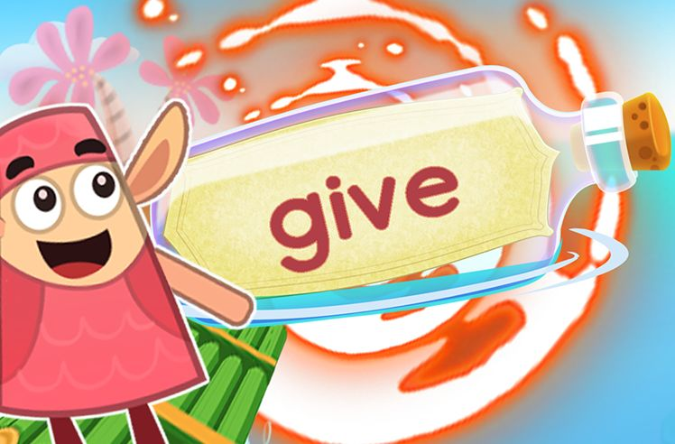 Practice the Sight Word: give
