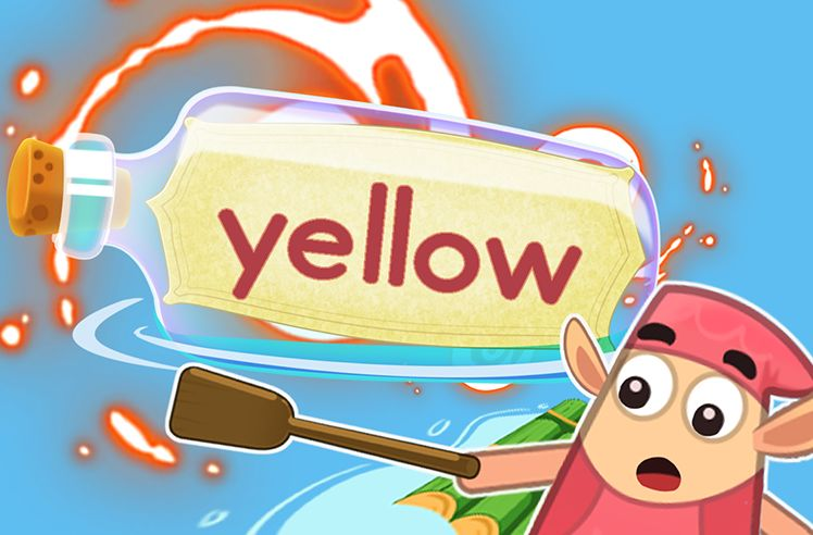 Practice the Sight Word: yellow