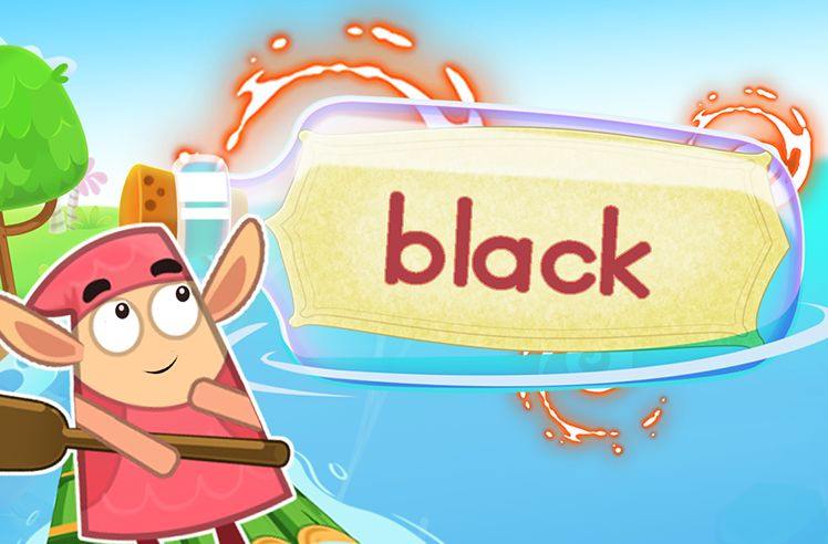 Practice the Sight Word: black