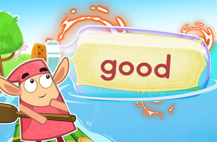 Practice the Sight Word: good