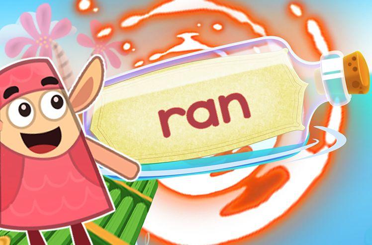 Practice the Sight Word: ran