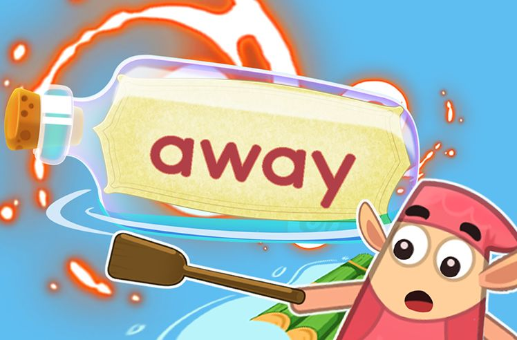 Practice the Sight Word: away
