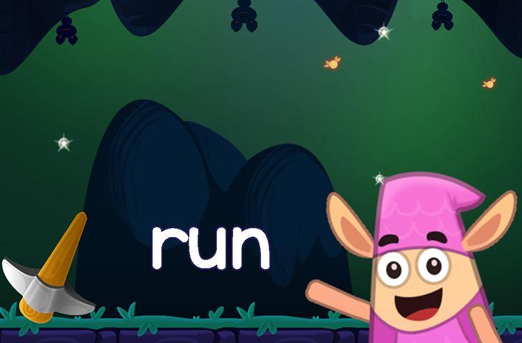 Learn the Sight Word: run