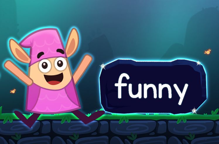 Learn the Sight Word: funny