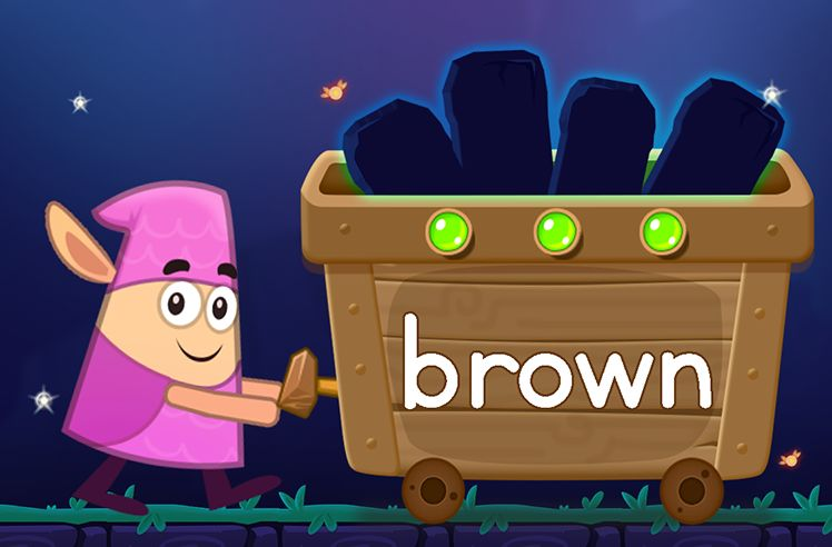Learn the Sight Word: brown