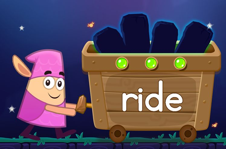Learn the Sight Word: ride