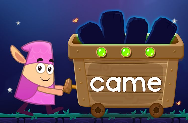 Learn the Sight Word: came