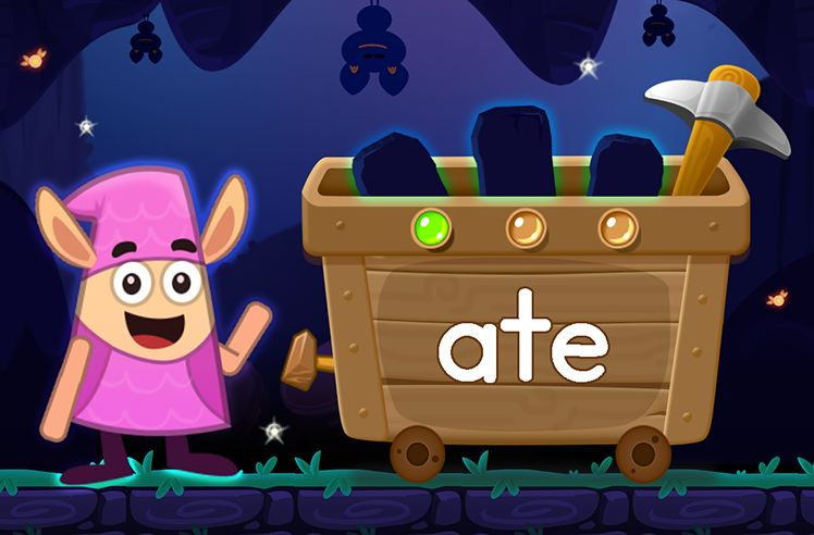 Learn the Sight Word: ate