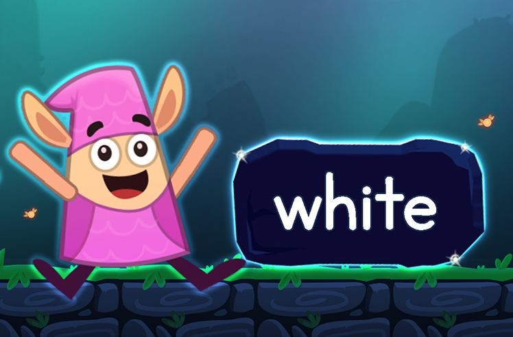 Learn the Sight Word: white