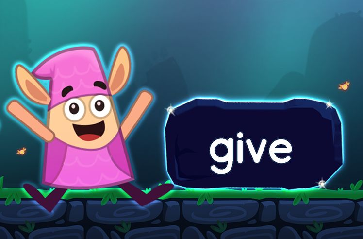 Learn the Sight Word: give