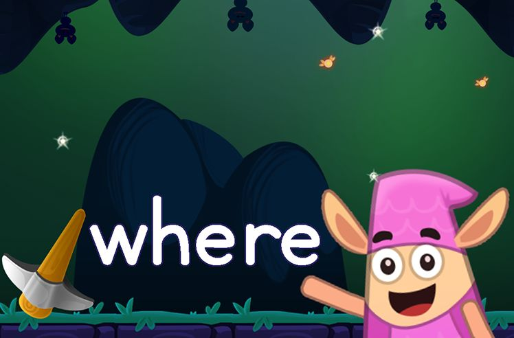 Learn the Sight Word: where
