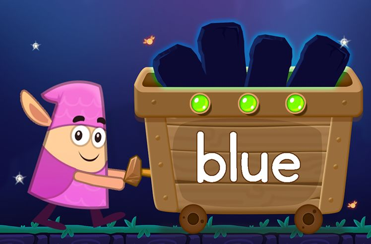 Learn the Sight Word: blue