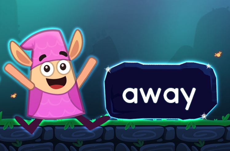Learn the Sight Word: away