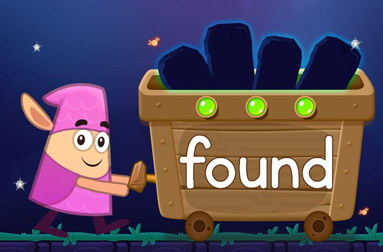 Learn the Sight Word: found