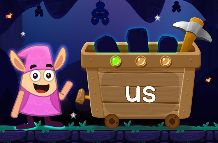 Learn the Sight Word: us