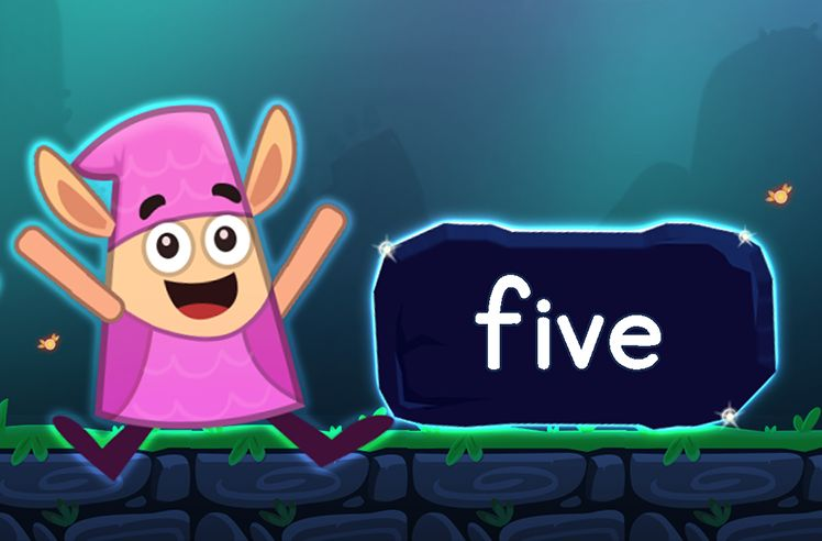 Learn the Sight Word: five