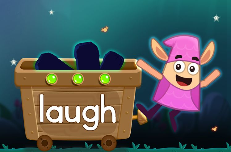 Learn the Sight Word: laugh