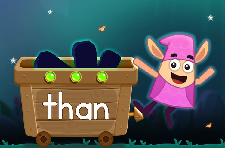 Learn the Sight Word: than