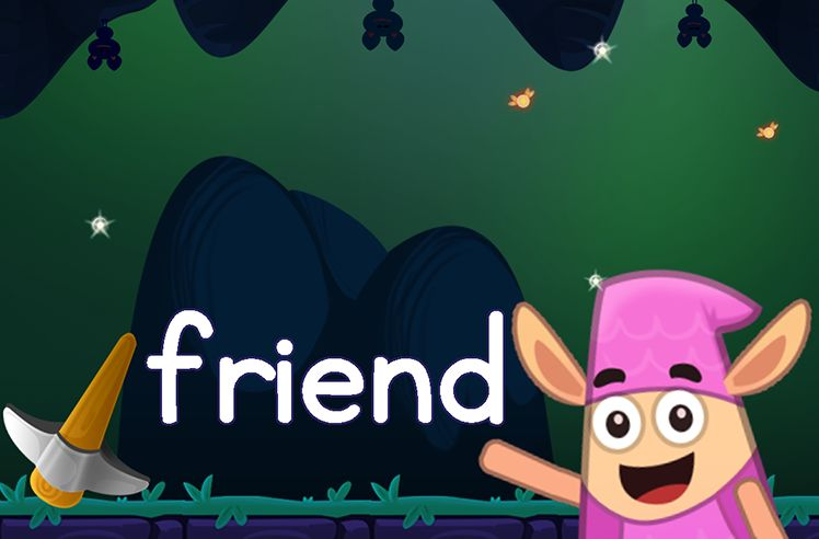 Learn the Sight Word: friend