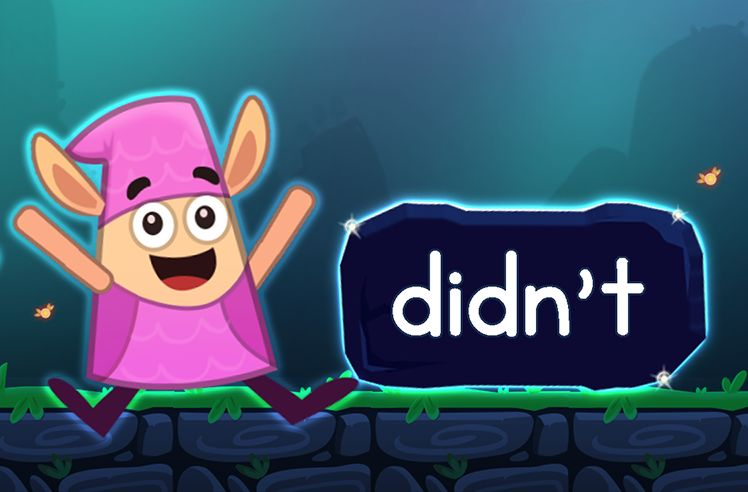 Learn the Sight Word: didn't