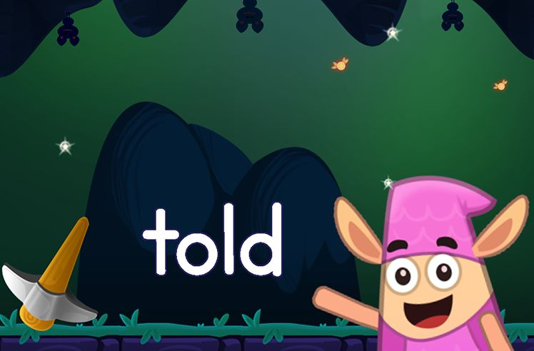 Learn the Sight Word: told