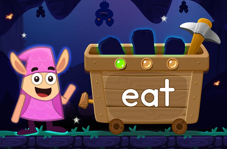 Learn the Sight Word: eat
